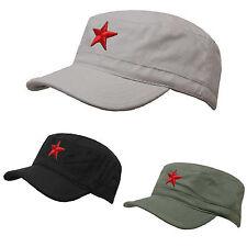 b8222d0e24a SOVIET Army Russian Red Star Hat Cap Fancy Dress Cadet MILITARY SOLDIER