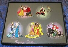 Disney D23 Designer Fairytale Heros and Villains Limited Edition Pin Set New!