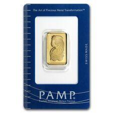 10 gram Gold Bar - PAMP Suisse Lady Fortuna (In Assay) - SKU #19044
