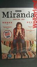 Miranda Series 1 & 2 [ 2 DVD Box Set ] BRAND NEW & SEALED, FREE Next Day Post