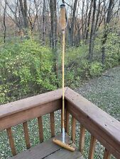 Vintage Polo Mallet Bamboo shaft J&M Mallets Factory Equestrian Decor