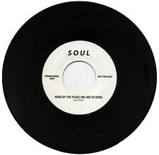 """DAVID RUFFIN    """"RODE BY THE PLACE""""  c/w GLADYS KNIGHT  """"STOP & GET A HOLD OF.."""""""