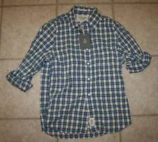 NWT Abercrombie & Fitch Mens Small Classic Plaid Shirt