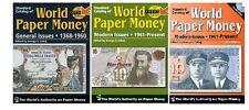 RACCOLTA CATALOGHI  MONDIALE PAPER MONEY BANCONOTE