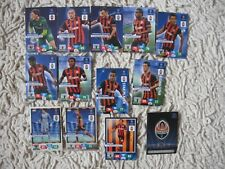 PANINI ADRENALYN XL CHAMPIONS LEAGUE 2013 /14 SHAKHTAR  fans COMPLETE 2014
