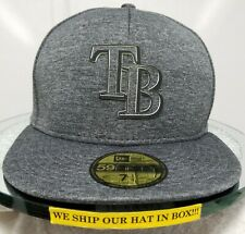 Tampa Bay Rays~MLB~New Era~59FIFTY~Genuine~Clubhouse 2018~Graphite