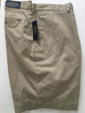 Polo Ralph Lauren Mens Big & Tall Classic Fit Shorts Size 44 B  Hudson Tan