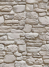 - 6 Sheets self adhesive stone wall 21x29cm Scale 1/12 grey white Code 309Abb1