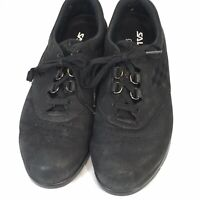 SAS Free Time Shoes 8.5 Medium Oxford Casual Comfort Black Womens MSRP $160