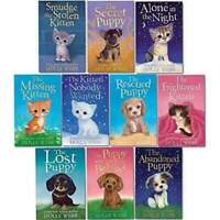 Holly Webb Animal Stories Puppy and Kitten Rescue Series 10 Books Collection Set