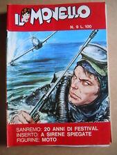 IL MONELLO n°9 1972 CRISTALL - RAHAN + Figurine MOTO [G391]