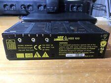 E Weir Lambda HSS 100 Alimentatore power supply Multimetro Oscilloscopio
