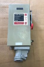 Cutler Hammer Safety Switch DH362FDK2WR 60 Amp 600 Volt Fusible 3R