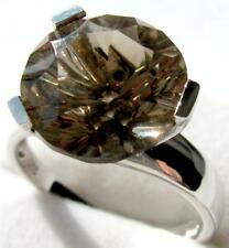 Ring RAUCHQUARZ; 925er Sterlingsilber