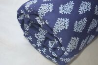 5 Yard Indian Handmade Sanganer Print cotton fabric Hand Block Fabric Floral*