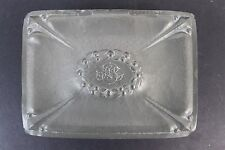 Antique Signed HAGS TIN Hand Hammered Arts Crafts Era Pewter Jewelry Trinket Box