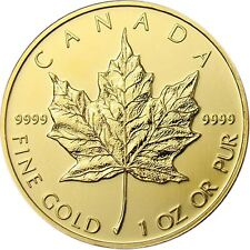 1 oz Gold Maple Leaf | Random Dated Canadian Gold Coin