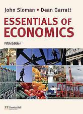 Essentials of Economics with MyEconLab, John Sloman & Dean Garratt, Used; Very G