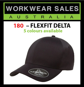 FLEXFIT 180 DELTA FITTED CAP, HATS, Free Delivery