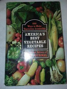 VINTAGE AMERICA'S BEST VEGETABLE RECIPES by Food Editors of Farm Journal 1970