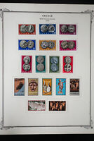 Greece 1960s and 1970s Stamp Collection
