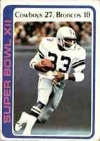 1978 Topps #168 Tony Dorsett HOF ROOKIE Super Bowl XII Dallas Cowboys / Pitt