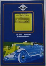 FORD ESCORT XR3i & RS TURBO 1980-1987 PROVA SU STRADA LIBRO DI Unique MOTORE LIBRI
