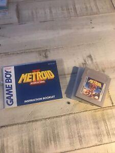 Metroid II: Return of Samus (Game Boy, 1991) *TESTED WORKING*