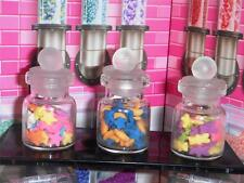 Lot of Mixed Candies & Cookies in Jars fits Fisher Price Loving Family Dollhouse