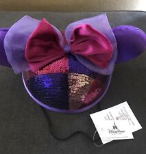 Disney Parks Minnie Mouse Sequined Ear Hat
