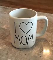 New Rae Dunn I HEART MOM Mug