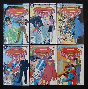 THE MAN OF STEEL #1 1A 2 3 4 5 6 Complete - Batman - Superman (DC 1986) 9.2 NM-
