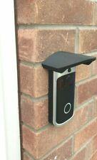 Doorbell sun shade rain hood cover mount video wifi security camera door bell