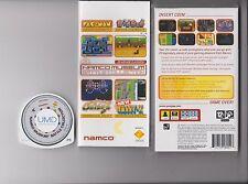 NAMCO MUSEUM SONY PSP HANDHELD 16 RETRO GAMES 4 UPDATES
