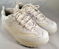Skechers Womens Shape Ups White Toning Walking 11800 Sneaker Size 9.5 M
