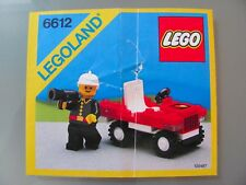 LEGO 6612 @@ NOTICE / INSTRUCTIONS BOOKLET / BAUANLEITUNG 1