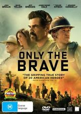 Only The Brave (DVD, 2018) : NEW