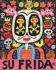 Dolor Feliz Gracias (Su Frida) Jorge R. Gutierrez Art Print 8x10