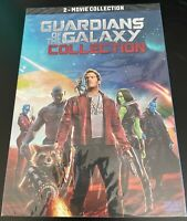 Guardians of the Galaxy Vol 1 & 2 DVD (Marvel Studios, Brand New, Free Shipping)