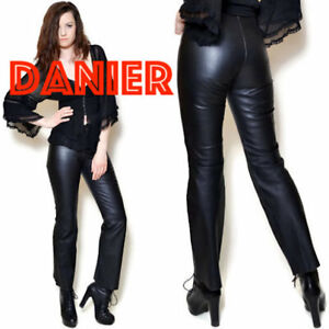 Danier Leather Pants Size 8 Boot Cut Made from high-quality leather in Canada