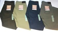 New Men's Dockers Jean Cut Stretch Straight Fit Pant - 98% Cotton