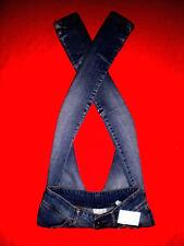 H&m dubster JEANS hüftjeans jeans effetto vissuto tg. 164 blogger w26 l32 Neuw Top