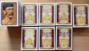 1996 to 2018 HALL of FAME 8 Complete Sets - 352 Cards Inc. Played & Limited Sets