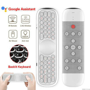 Air Mouse Keyboard Wireless Gaming Remote Control With Voice For Android TV box