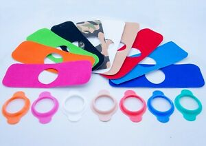 Protective Stickers For Freestyle Libre Sensor + Cover or Refill Many Colours