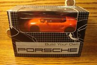 Build Your Own PORSCHE Boxster 1:38 Scale Die cast metal body RED