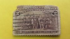 2 cents stamp USA Landing of Columbus 1892