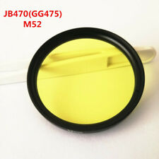 52mm Optical color glass  Infrared Longpass Filter for photography