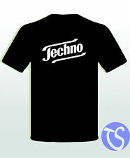 Funshirt Techno Tempo bass Techno Mayday nature Geschenk  Geburtstag Wunschdruck