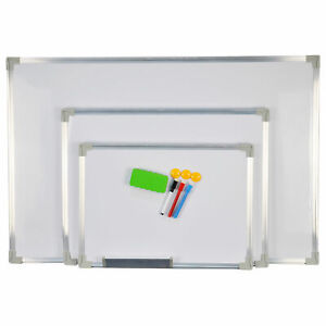 Magnetic Dry Wipe White Board Whiteboard Notice Pen Eraser Magnet 3 Sizes